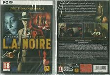 RARE / JEU PC - L.A. ( LOS ANGELES ) NOIRE / NEUF EMBALLE - NEW & SEALED
