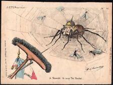 De la Tremblais. Série Actualités n°34. Typogravure vers 1870. Guerre de 1870