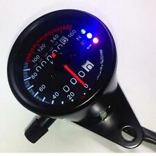 Pro LED Backlight Signal Motorcycle Odometer Speedometer Gauge Cafe Racer YU#