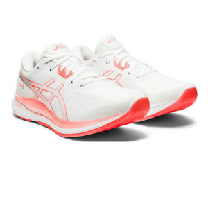 Asics Womens Evoride Tokyo Running Shoes Trainers Sneakers White Sports