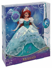Disney Little Mermaid Princess Holiday Princess Ariel Doll ~Brand New~