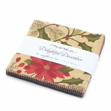 Delightful December By Sandy Gervais For Moda - Charm Pack