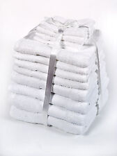Luxuriously Soft 12 Piece Towel Bale Gift Set- 100% Egyptian Cotton White