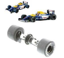 Scalextric W9899 Eje Trasero Rodamientos De Ruedas & Neumáticos Williams F1 C2971 C2971 C3094