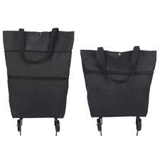 Portable Foldable  Handbag Shopping Storage Bags Trolley Tote Food Cart On Wheel