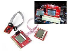 Testeur carte mère PC - 2 ECRANS LCD - Interfaces PCI MiniPCIE MiniPCI LPC