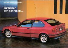Prospekt / Brochure BMW 316i compact 1/1994
