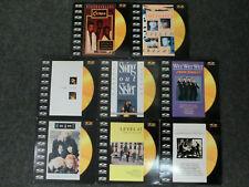"8 Stück Lasderdisc Musik videos 8"" 9"" - WET WET WET - Heart - Pet Shop Boys usw."