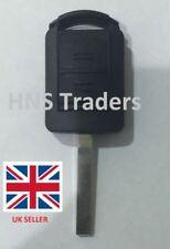 2 Button Remote Key Shell Case + Blade For Vauxhall Opel Corsa Agila Meriva A10