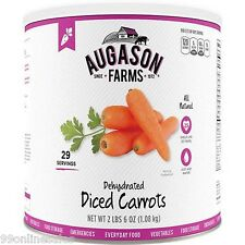Augason Farm Emergency Dehydrated Dried Carrots Disaster Survival Camping Food