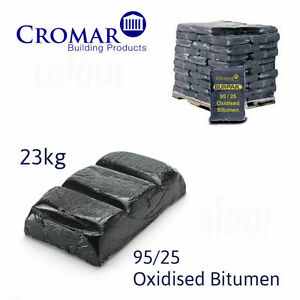 Cromar 95/25 Oxidised Bitumen Keg | Bitumen Block | Flat Roofing | 23kg