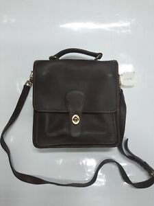 Vintage COACH 5130 Station Bag in Brown +NEW with Tag+
