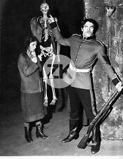 LAURENT TERZIEFF Peter BROOK Laurence BOURDIL John ARDEN Squelette Photo 1963