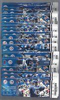 2014 MLB BLUE JAYS BASEBALL ALMOST COMPLETE SEASON FULL TICKETS 83/84 GAMES