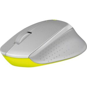 Logitech M330 Silent Plus Wireless Large Mouse Silver/Yellow - NO RECEIVER  (...