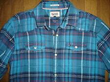 Tommy Hilfiger Denim Chemise taille S coton épais comme neuf boutons pression