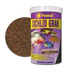 Tropical Cichlid Gran Granulat 1000 ml Barschfutter Cichlidenfutter Malawi