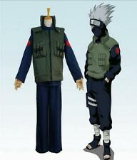 Anime naruto Cosplay Hatake Kakashi Hokage vest GREATER NINJA Halloween costume