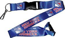NEW YORK RANGERS - LANYARD - BRAND NEW NHL HOCKEY - NHL-LN-095-12