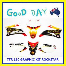 NEW 3M graphics kit decals sticker for dirt pit bike TTR 110/LXR Rockstar