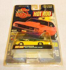 🏁 Racing Champions Yellow '66 Pontiac GTO - HOT ROD Magazine 🏁