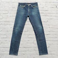 APC Petit New Standard Distressed Denim Jeans Size 30 Faded Destroyed Skinny