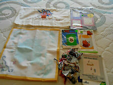 LOT~COUNTED & PRINTED CROSS STITCH KITS & FLOSS~ SOME SEALED
