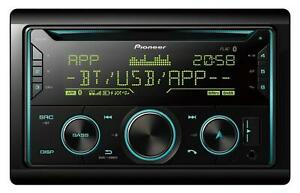 Pioneer FH-S720BT Doppel-DIN CD/MP3-Autoradio Bluetooth iPod AUX-IN USB