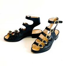 Rare Vintage stephane Kellian Paris Gradiator sandals Size 8, 80's/90's