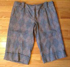 Petro Zillia. NWT, size 4 USA ,plaid trouser bermunda short, front pockets
