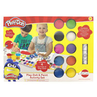 Play-Doh Paint And Activity Set Age 3+ Years 10 Paints 4 Mini Tubs Of Play-Doh