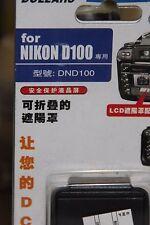 NIKON D100 DSLR CAMERA LCD HOOD AND SCREEN PROTECTOR BNIB