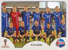 293 TEAM PHOTO SQUADRA ICELAND STICKER WORLD CUP RUSSIA 2018 PANINI