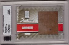 TERRY SAWCHUK 09/10 ITG Famous Fabrics LARGE Game-Used Pad Patch #d 03/09 SP