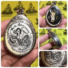 Nang Palad Tiger Yantra Takrut Thai Amulet Luck Love Charm Attractive Protect