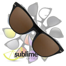 POLARIZED Dark Brown Replacement Lenses for  Ray Ban Folding Wayfarer RB4105