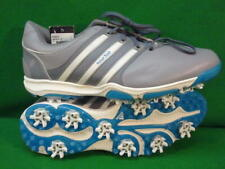 Adidas Tour 360 Leather Golf Shoe Mens Size 10 Q47033 White Grey New
