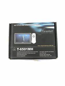 """Farenheit Headrest Module 6.5"""" Widescreen T-6501MH"""