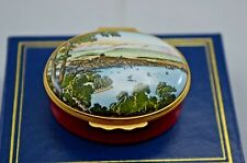 HALCYON DAYS ENAMEL BOX - 120TH ANNIVERSARY OF SIGNING OF GENEVA CONVENTION
