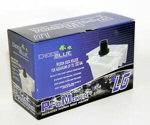 Deep Blue Promaxx Micron Sock Bag Holder Large aquarium filter Bag included