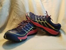 Men's Merrell All out Rush shoes size 13 black yellow orange