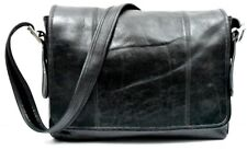 COACH # B9C-9065 Black Leather LEGACY MAIL Briefcase Computer Case