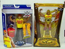 HULK HOGAN DEFINING MOMENTS & ELITE SERIES 34 FIGURES NEW IN BOX NIB WWE WWF NXT