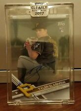 2017 Topps Clearly Authentic Tyler Glasnow CAAU-TGL ACETATE AUTO