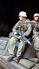 Tankrider german figure ST Mg scale 1:16 Resin kit 120 mm