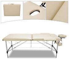 Massageliege Massagetisch Alu Therapieliege Klappbar Massagebank 2 Zonen +Tasche