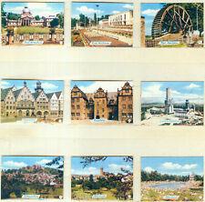9er Streichholzetikettenserie 34a - mit Städtebilder (Oberursel und Umgebung)