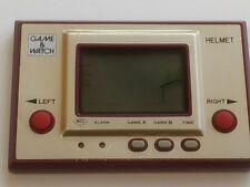 Vintage Nintendo Game & Watch Helmet LSI Screen Japan/tested-Q1-
