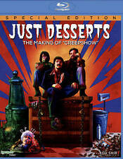 """Just Desserts: The Making Of """"Creepshow"""" Blu-ray NEW FREE SHIPPING!!!"""