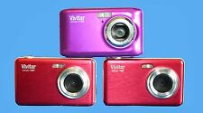 JOBLOT 3X Vivitar ViviCam T027 AND VIVICAM F28 12.1 MP DIGITAL CAMERA - FAULTY